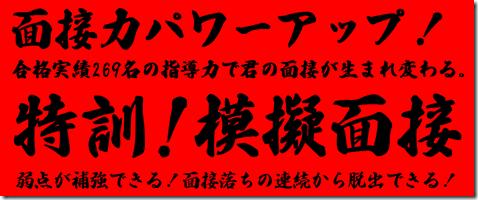 公務員 模擬面接 東京 大阪 横浜